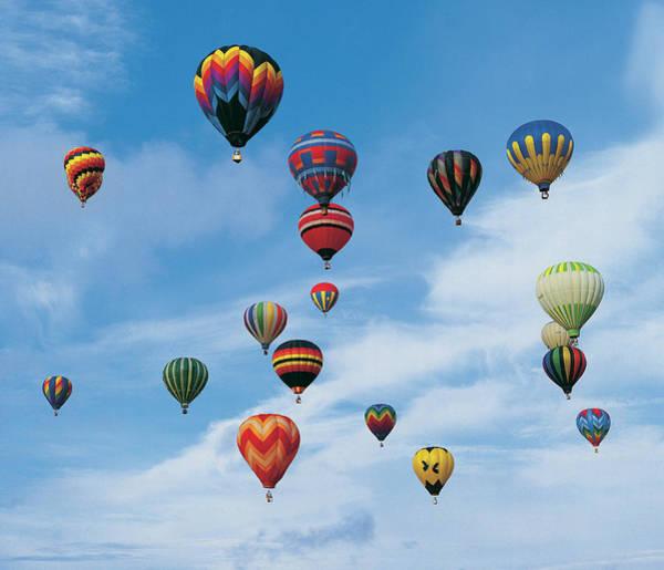 Photograph - Hot Air Balloon Regatta by Digital Vision.