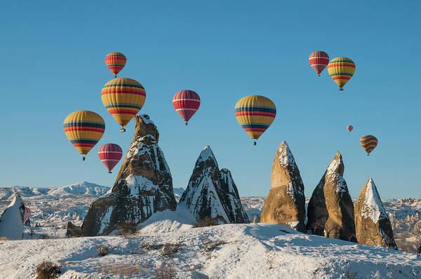 Cappadocia Photograph - Hot Air Ballooning In Cappadocia by Ayhan Altun