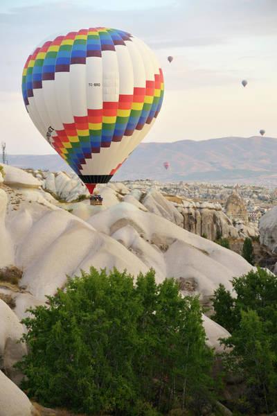 Cappadocia Photograph - Hot Air Ballooning In Cappadocia by Wibowo Rusli