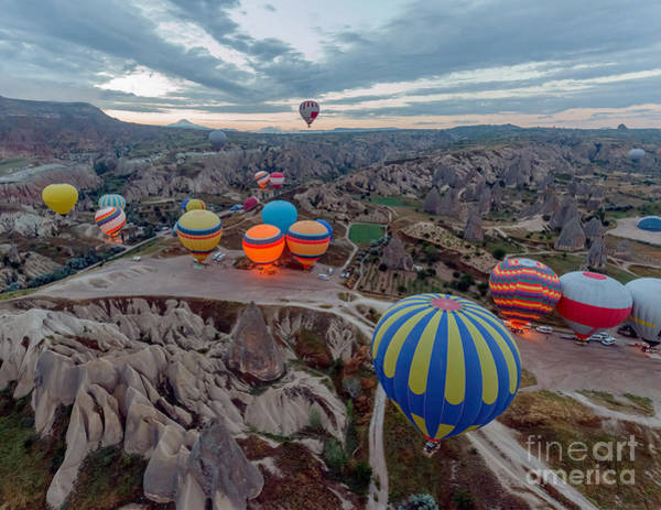 Ballons Wall Art - Photograph - Hot Air Balloons Atmosphere Ballons by Vadim Petrakov