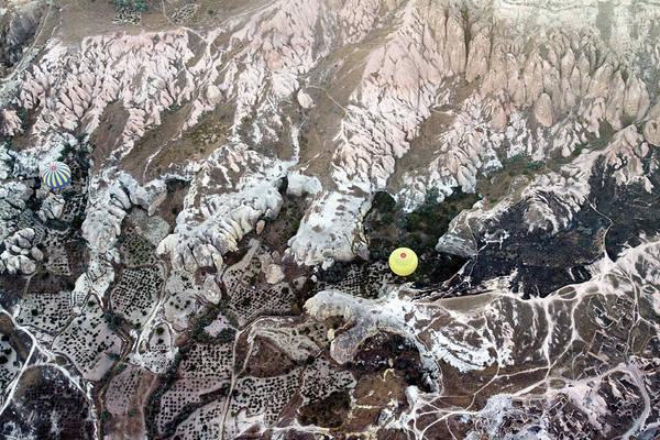 Cappadocia Photograph - Hot-air Balloons Over Cappadocia by Wu Swee Ong