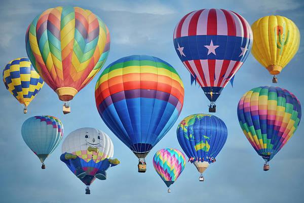 Wall Art - Photograph - Hot Air Balloons by Paul Freidlund