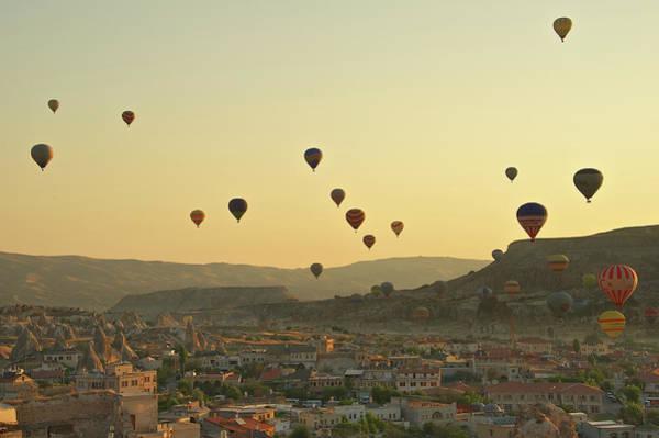 Cappadocia Photograph - Hot Air Balloons by Photo By Bernardo Ricci Armani