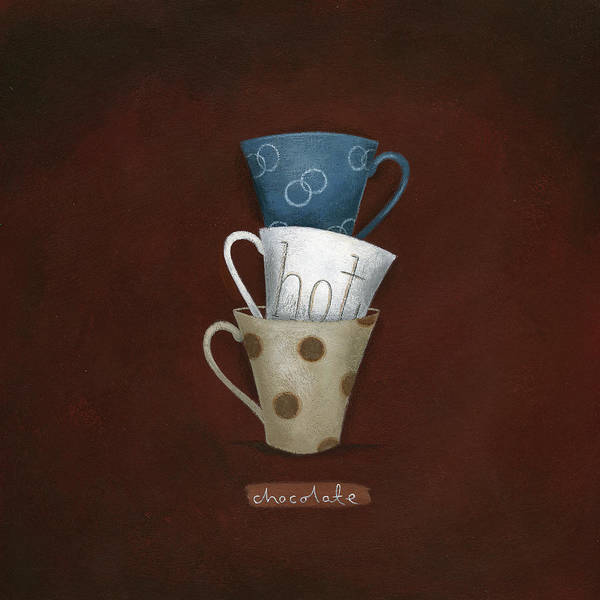 Wall Art - Digital Art - Hot Choc by A.v. Art