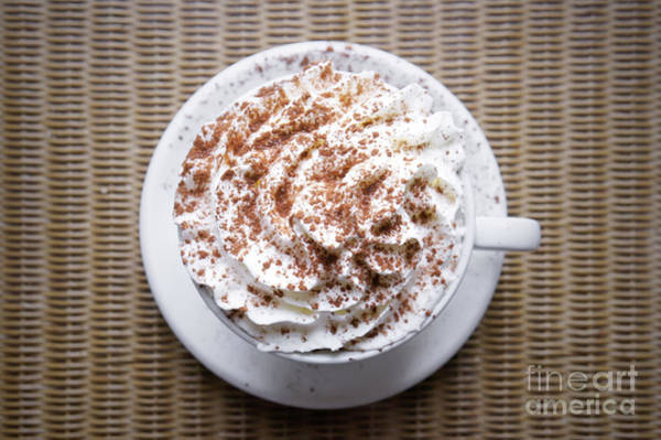 Wall Art - Photograph - Hot Chocolate Drink by Tom Gowanlock