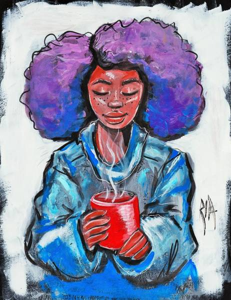 Painting - Hot Cocoa by Artist RiA