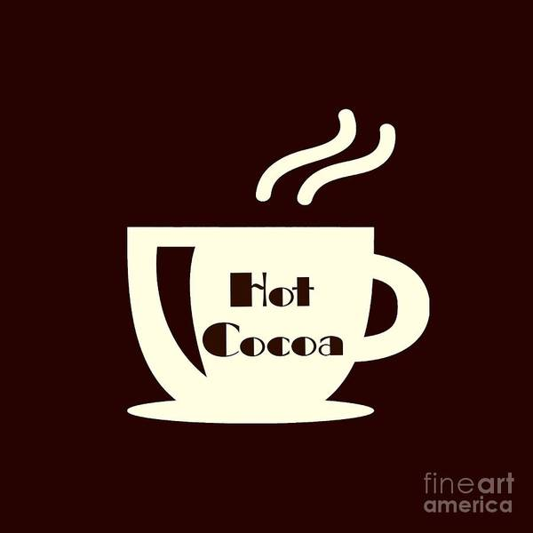 Digital Art - Hot Cocoa  by Rachel Hannah