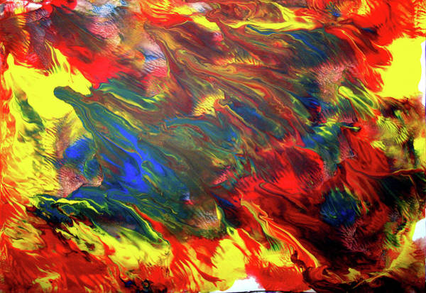 Painting - Hot Colors Coolling by Leigh Odom