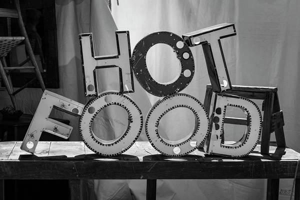 Photograph - Hot Food Bw by David Gordon