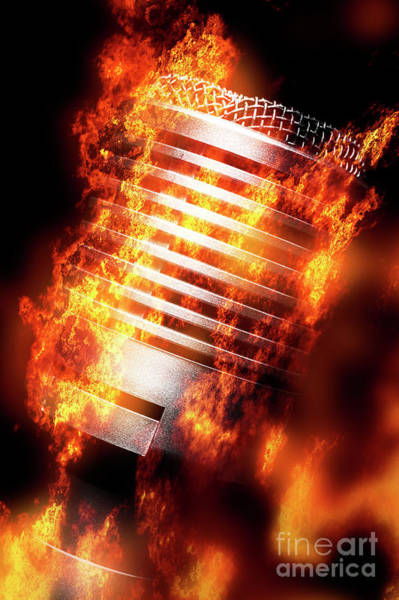 Wall Art - Photograph - Hot Mic by Jorgo Photography - Wall Art Gallery