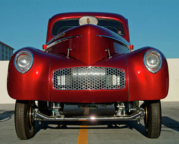 Customized Photograph - Hot Rod Cars, Las Vegas Usa by Diverse Images/uig
