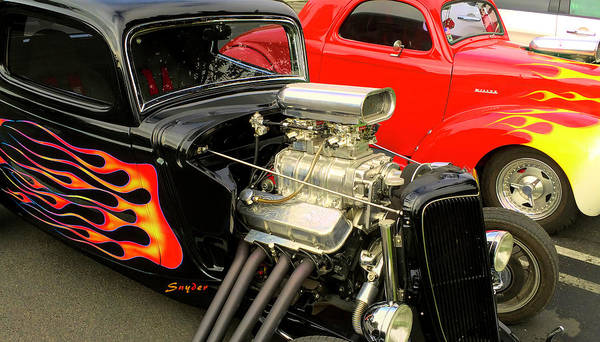 Photograph - Hot Rod Flames by Floyd Snyder