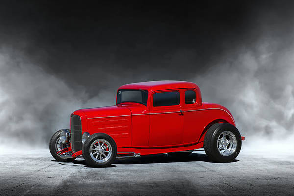 Wall Art - Digital Art - Hot Rod by Peter Chilelli