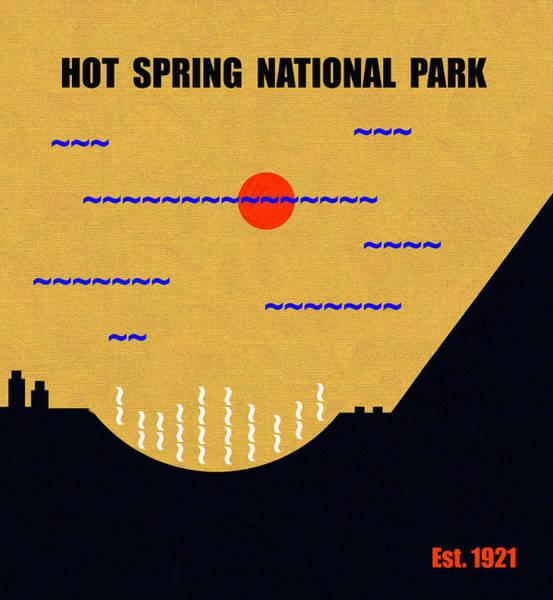 Wall Art - Mixed Media - Hot Springs N. P. M Series by David Lee Thompson