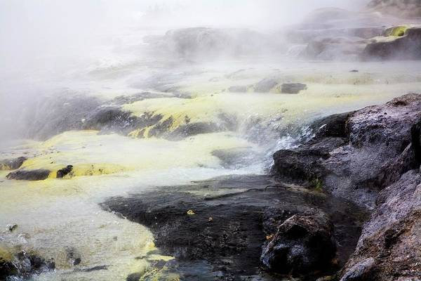 Sulphur Photograph - Hot Springs, Rotorua, New Zealand by Design Pics/john Doornkamp