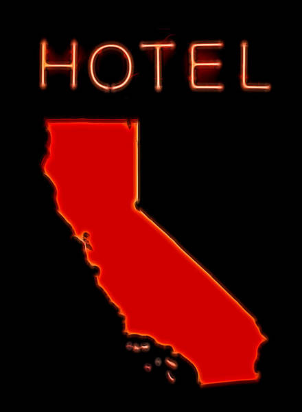 Wall Art - Digital Art - Hotel California by Dan Sproul