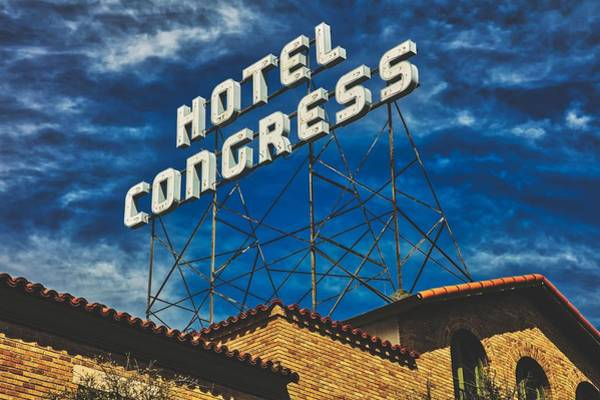 Wall Art - Photograph - Hotel Congress - Tucson, Arizona by Mountain Dreams