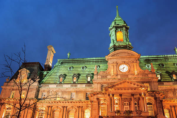 Quebec City Photograph - Hotel De Ville Is Actually An Opulent by Stuart Westmorland