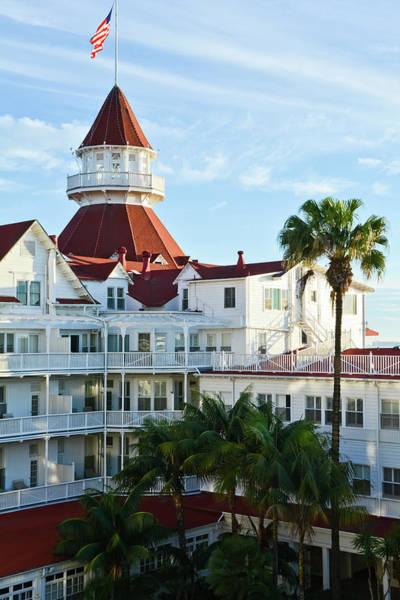 Photograph - Hotel Del Coronado Portrait by Kyle Hanson