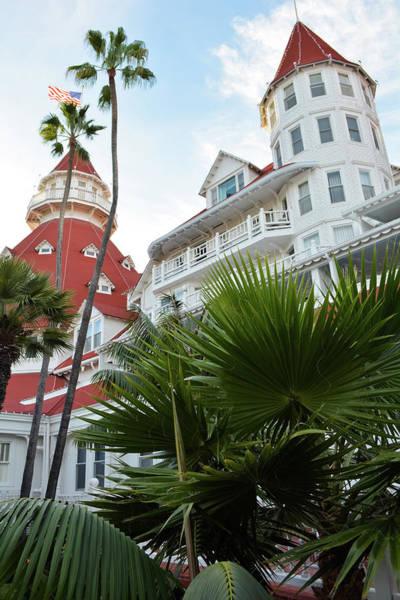 Photograph - Hotel Del Coronado San Diego Portrait by Kyle Hanson