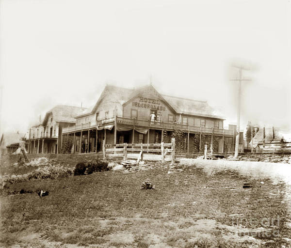 Photograph - Hotel Del Coronado. Sisson Now The City Of Mt. Shasta  In Siskiy by California Views Archives Mr Pat Hathaway Archives