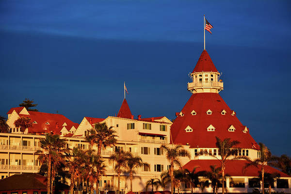 Photograph - Hotel Del Coronado Sunset by Kyle Hanson