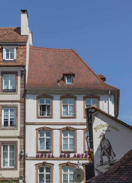 Wall Art - Photograph - Hotel Des Arts Strasbourg by Teresa Mucha