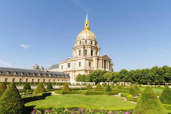 Invalides Photograph - Hotel Des Invalides, Paris, France by John Harper