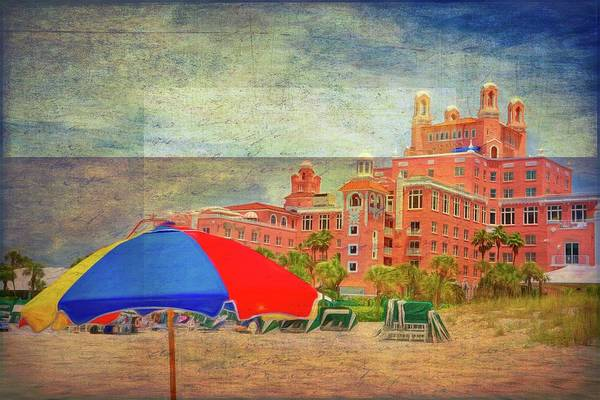 Photograph - Hotel Don Cesar Memories by Alice Gipson