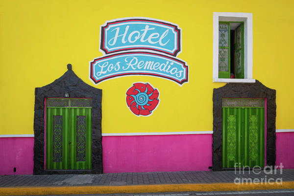 Photograph - Hotel Los Remedios by Inge Johnsson