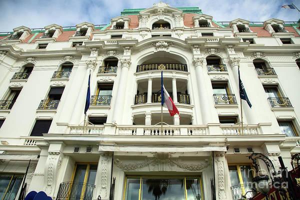 Photograph - Hotel Negresco Nice France Epic by Wayne Moran