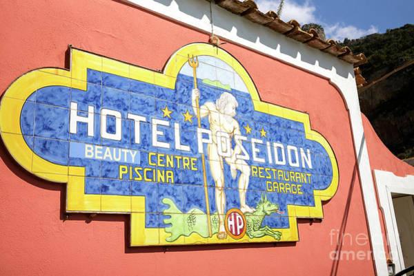 Wall Art - Photograph - Hotel Poseidon Positano by John Rizzuto