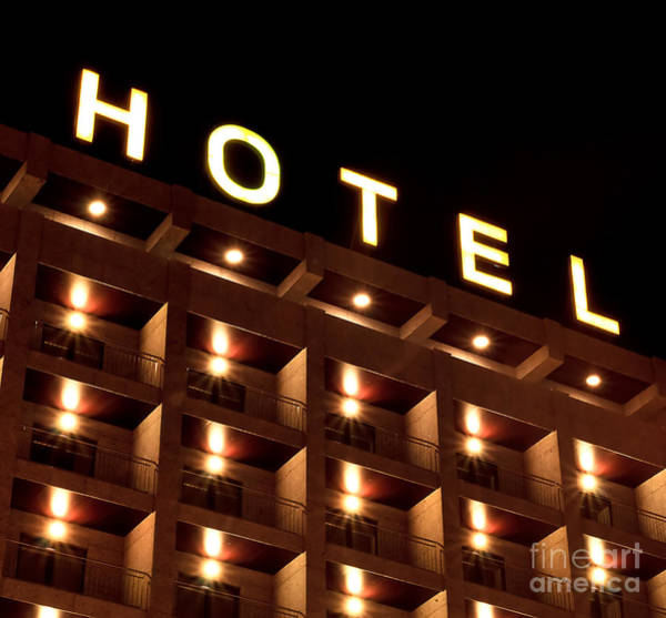 Wall Art - Photograph - Hotel Sign by Joao Seabra
