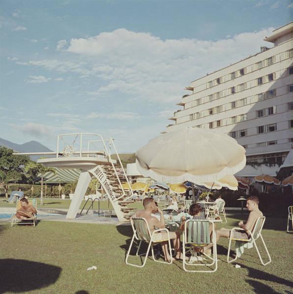 Diving Board Photograph - Hotel Tamanaco, Caracas by Pictorial Parade