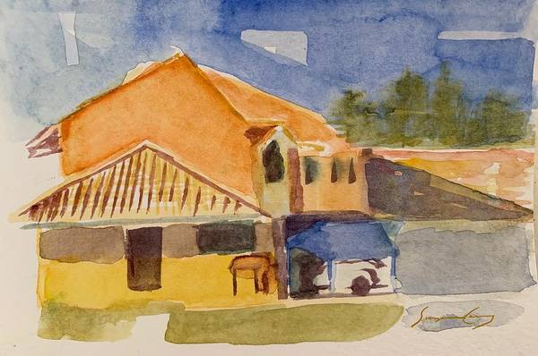 Painting - House Across The Way by Suzanne Cerny