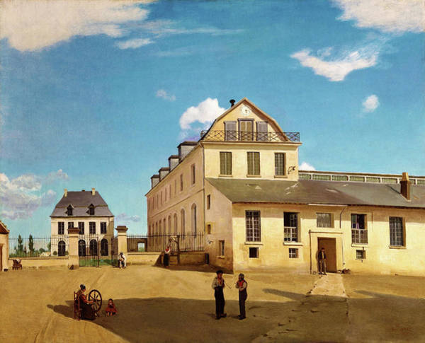 Wall Art - Painting - House And Factory Of Monsieur Henry - Digital Remastered Edition by Jean-Baptiste Camille Corot