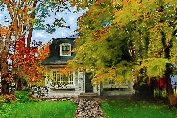 Photograph - House In Canada Series 1644 by Carlos Diaz