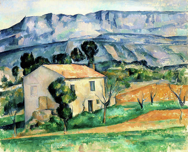 Wall Art - Painting - House In Provence - Digital Remastered Edition by Paul Cezanne
