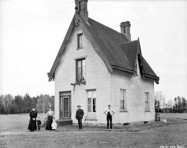 Painting - House, Oakville, Ca. 1909 by Celestial Images