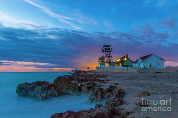 Art Print featuring the photograph House Of Refuge Morning by Tom Claud