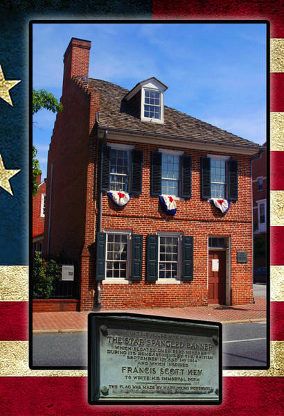 Photograph - House Of The Star Spangle Banner by Anthony Jones