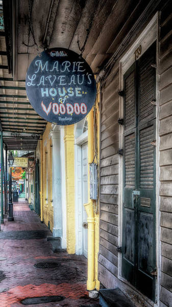 Photograph - House Of Voodoo by Susan Rissi Tregoning