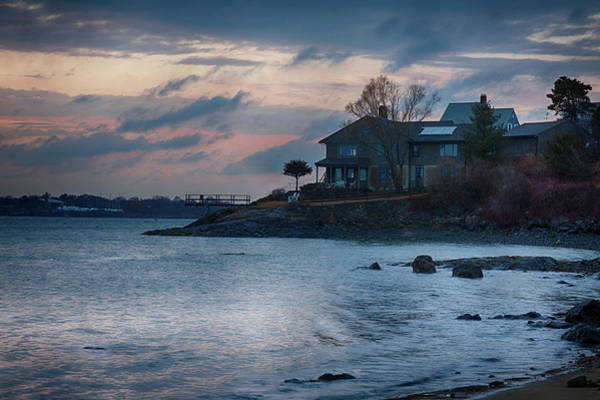 Photograph - House On Folger Point by Jeff Folger