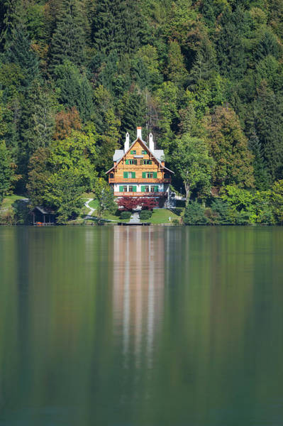 Photograph - House On The Lake by Davor Zerjav