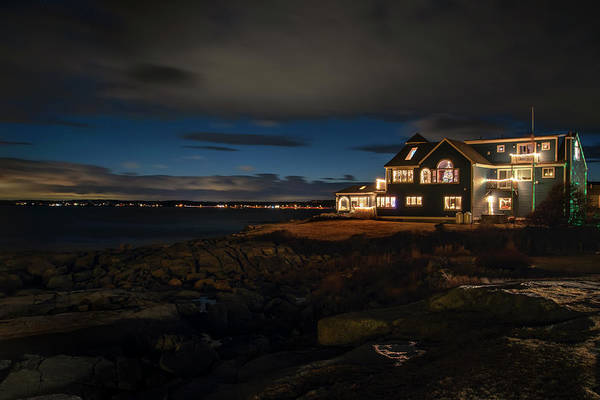 Photograph - House On The Water - Maine by Joann Vitali