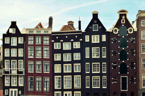 Holland Wall Art - Photograph - Houses In Amsterdam, Netherlands by Photo By Ira Heuvelman-dobrolyubova
