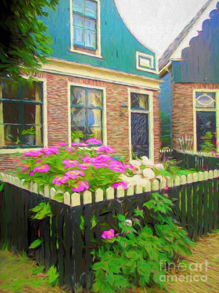 Brick House Mixed Media - Houses In Zaanse Schans by Susan Lafleur
