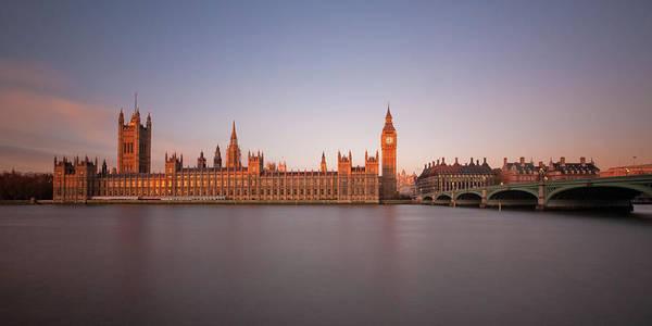 Wall Art - Photograph - Houses Of Parliament At Dawn by Tu Xa Ha Noi