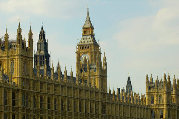 The Clock Tower Photograph - Houses Of Parliament by Paulbence Photography