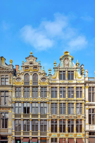 Photograph - Houses Of The Grand Place by Fabrizio Troiani